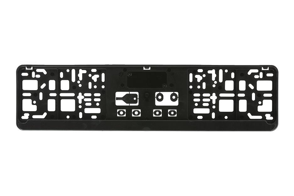 Kennzeichenhalter mit Steckleiste (520 x 110 mm)