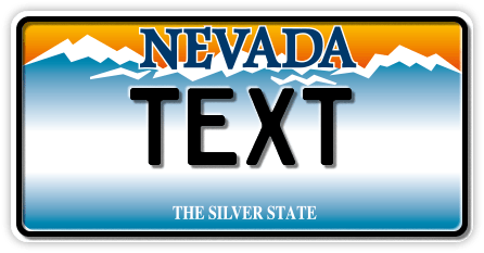 US-Nevada The Silver State, Mountains, 300x150 mm