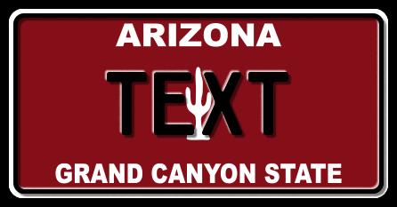 US-Arizona Grand Canon, Red, 300x150 mm