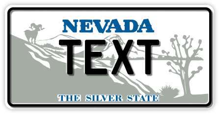 US-Nevada The Silver State, 300x150 mm