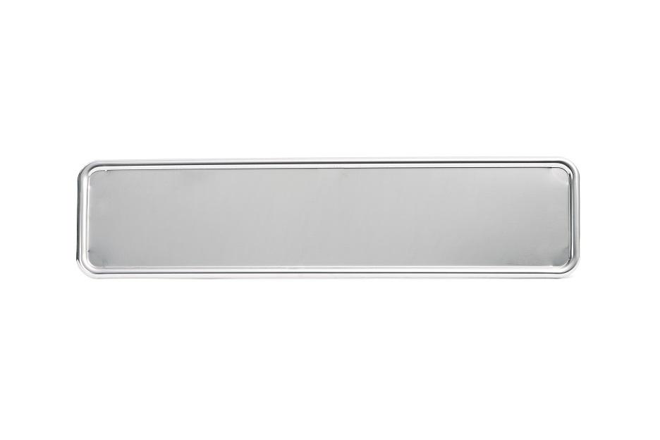 Edelstahl-Unterlage (520 x 110 mm)