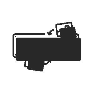 Foto-Digitaldruckschild, 300x150 mm