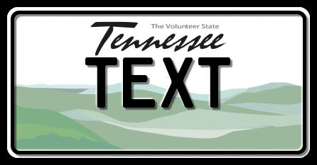 US-Tennessee Volunteer State, 300x150 mm