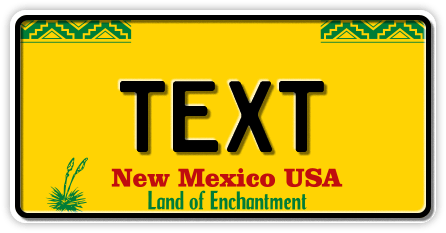 US-New Mexico Land of Enchantment, 300x150 mm