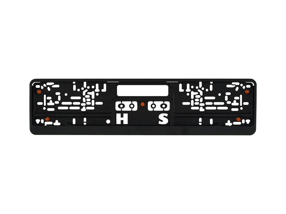 Kennzeichenhalter Kunststoff (520 x 110 mm)